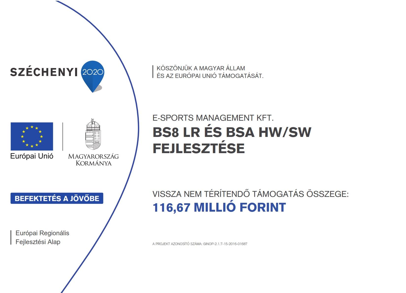 E-Sports Támogatás